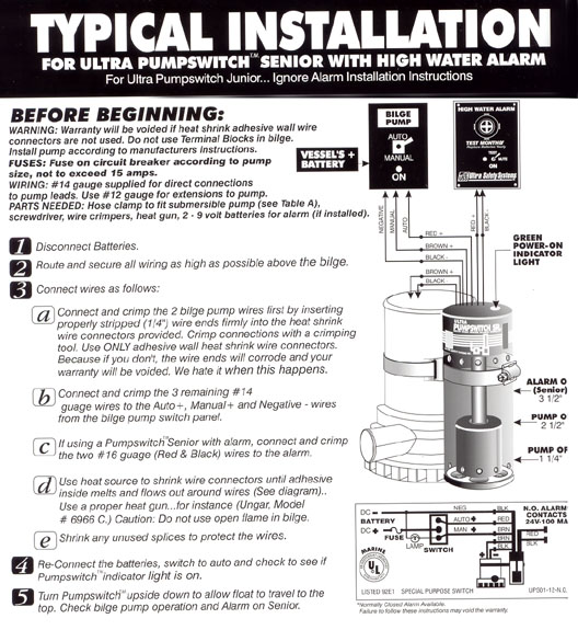 installationpumpswitch tef gel ultra safety systems home page on ultra pump switch wiring diagram